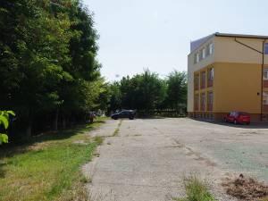 Zona în care se propune construirea grădiniței din fonduri europene