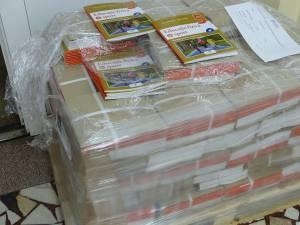 O parte dintre manualele de sport au ajuns în depozitele Inspectoratului Şcolar