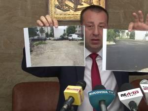 Harșovschi nu renunţă la amenajarea parcărilor dintre blocuri