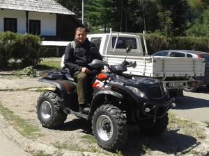 """Gheorghe Flutur: """"Merg cu ATV-ul"""""""