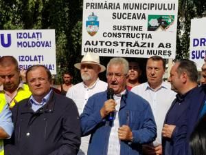 Protestul Sucevei la Targu Mures