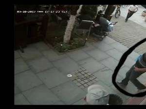 Bărbatul care a plecat cu bicicleta