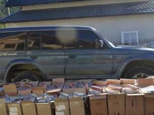 Țigările au fost ridicate în vederea confiscării, iar autoturismul Mitsubishi Pajero a fost indisponibilizat la sediul SPF Brodina