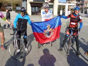Biciclistii au plecat vineri dimineata, la ora 10.00, de pe esplanada Casei Culturii