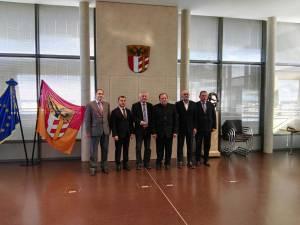 Flutur a condus delegaţia din judeţul Suceava care s-a întâlnit cu preşedintele regiunii Schwaben din Germania