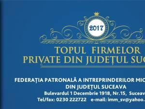 Topul firmelor private din județul Suceava - Ediția a XXII-a