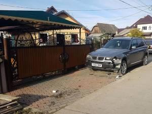 Autoturismul BMW era parcat regulamentar, în afara carosabilului