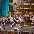 """Muzică și dans popular, miercuri, cu Ansamblul Studențesc """"Arcanul"""" USV"""