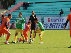 Meciul dintre Foresta şi FC Botoşani a fost foarte echilibrat