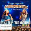 """Felicia Filip și Cristi Minculescu, pe scena suceveană, în Concertul de excelență artistică """"Magnificent Christmas"""""""