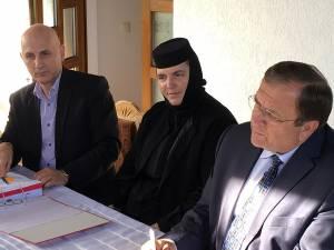 Semnarea contractului de finanţare pentru restaurarea Mănăstirii Probota