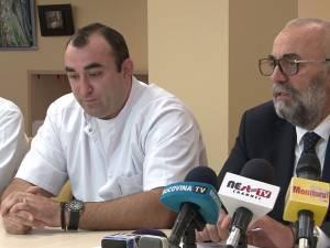 Inginerul Dragoș Vicoveanu și managerul Vasile Rîmbu