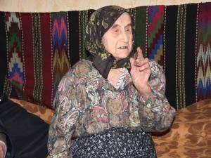 Elisaveta Nistoriuc, la împlinirea vârstei de 105 ani