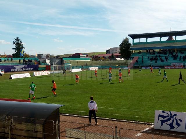 Foresta a pierdut cu 0-2 întâlnirea de pe Areni cu Dunărea Călărași