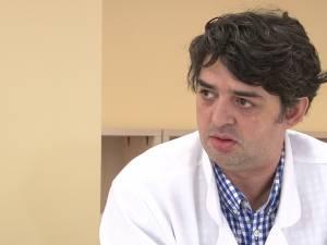 Şeful Laboratorului de imagistică medicală şi radiologie, dr. Adrian Tătăranu