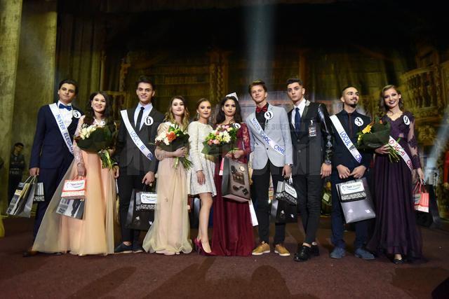 """Câstigătorii concursului Miss și Mister Boboc 2017 la Colegiul Național """"Mihai Eminescu"""""""