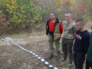 Cei patru ucraineni prinși