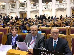 Ioan Stan (centru) a participat la Adunare Uniunii Interparlamentare
