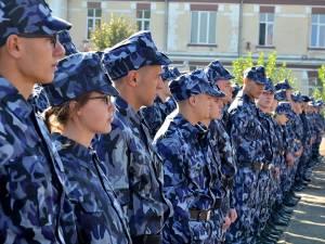 """La Şcoala Militară de Subofiţeri Jandarmi """"Petru Rareş"""" Fălticeni  sunt 350 locuri"""