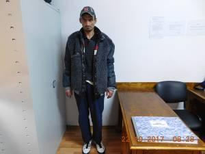 Spărgătorul de automate de cafea prins duminică în centrul Sucevei