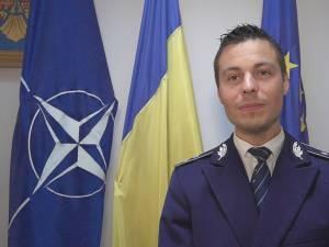 Comisarul Ionuţ Epureanu, coordonatorul Compartimentului de Analiză şi Prevenire a Criminalităţii din cadrul poliţiei judeţene