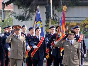 Ziua Armatei Române, la colegiul câmpulungean Foto: Laurenţiu Sbiera