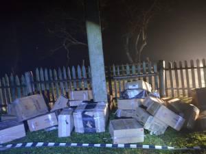 Ţigări de contrabandă, de peste 40.000 de euro, găsite de poliţiştii de frontieră suceveni