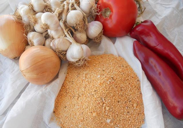 Tarhana cu legume. Foto: www.ustamdan.com