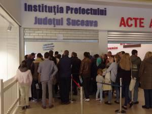 Astăzi, program normal de lucru la Serviciul de Permise şi Înmatriculări Suceava