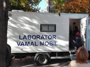 Două laboratoare vamale mobile au fost cumpărate prin proiect