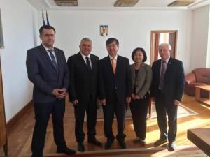 Deputatul Dumitru Mihalescul a participat la o întâlnire oficială cu ambasadorul Republicii Coreea în România