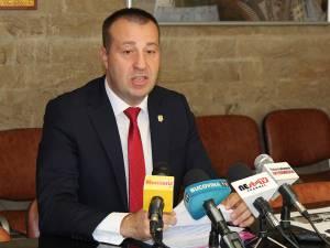 Viceprimarul Lucian Harşovschi
