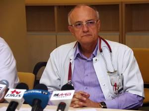 Purtătorul de cuvânt al spitalului, dr. Mihai Ardeleanu