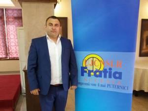 Liderul judeţean al CNSLR Frăţia, Gabriel Buliga