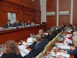 Deliberativul judeţean a votat în unanimitate pentru conferirea titlului, profesorului Ştefan Mihai Ceaușu