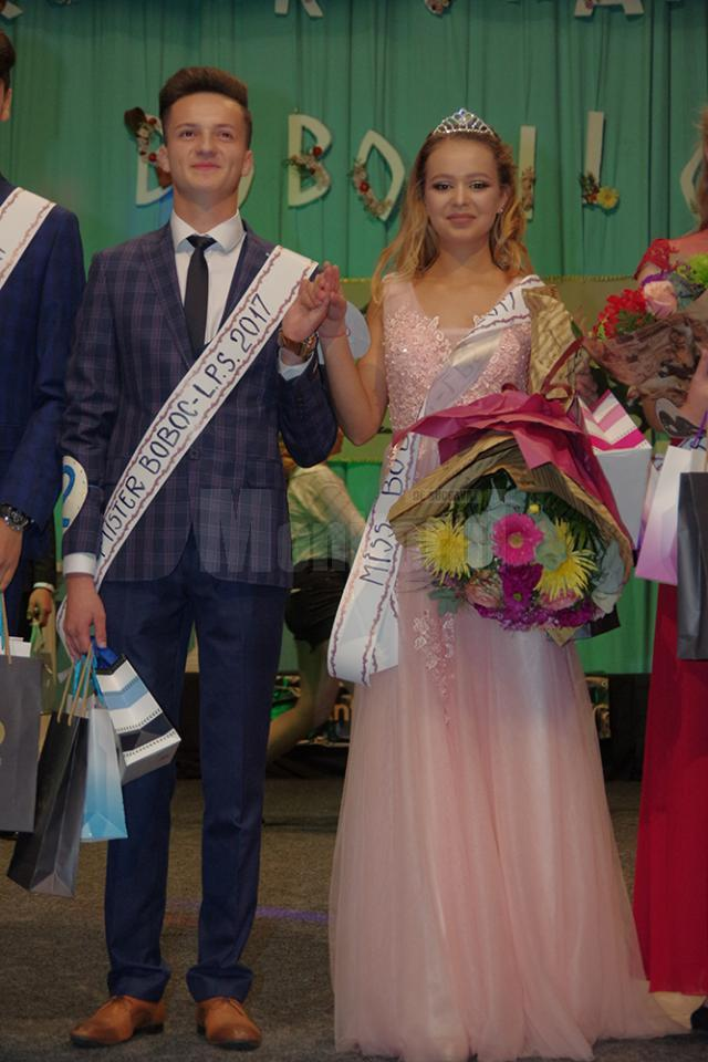 Miss Boboc, Bianca Manole. Mister Boboc, Andrei Bernicu