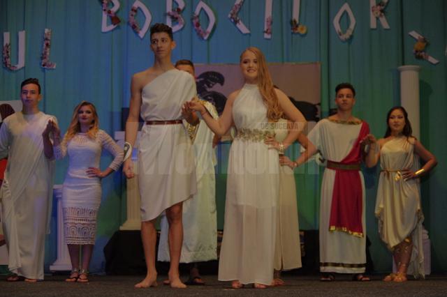 Liceul cu Program Sportiv a reînviat Grecia antică, la Balul Bobocilor