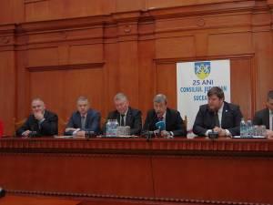 Întâlnirea de la Consiliul Judeţean Suceava