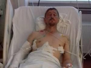 Gavriluţ Flocea a ajuns în stare gravă duminică seara la spital, după ce a fost bătut cu bestialitate de câţiva indivizi
