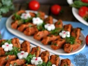 Chiftele din bulgur (fără prăjire sau coacere). Foto: Facebook.com/CahideSultan