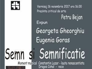 """Vernisajul expoziției de pictură și tapiserie """"Semn și semnificație"""", la Muzeul de Istorie"""