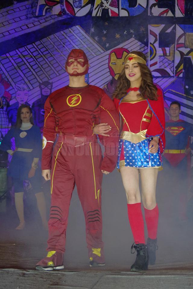 Supereroi din fabuloasa lume a Hollywoodului sau din benzile desenate