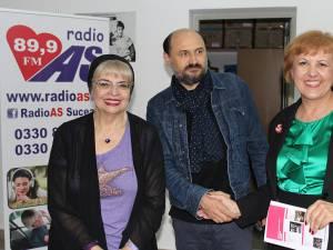 """Irina Margareta Nistor, Valeriu Andriuță și Angela Zarojanu, la Festivalul """"Les Films de Cannes à Suceava"""""""