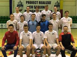 Echipa de handbal juniori I LPS Suceava, antrenor Răzvan Bernicu
