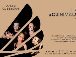 """Turneul Național """"Cu inima la teatru"""" - heART, ediția a II-a, ajunge la Suceava și Fălticeni"""