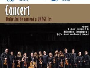 """Concert de muzică clasică al Universității de Arte """"George Enescu"""" Iași"""