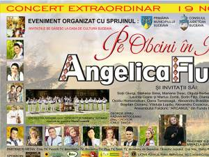 """Bucovineanca Angelica Flutur îşi va lansa cel de-al treilea album, """"Pe Obcini în Bucovina"""""""