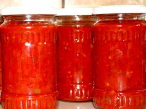 Pasta crudă de ardei pentru iarnă. Foto: pinterest.com