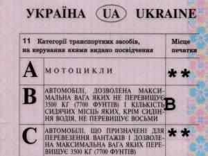 Permis ucrainean