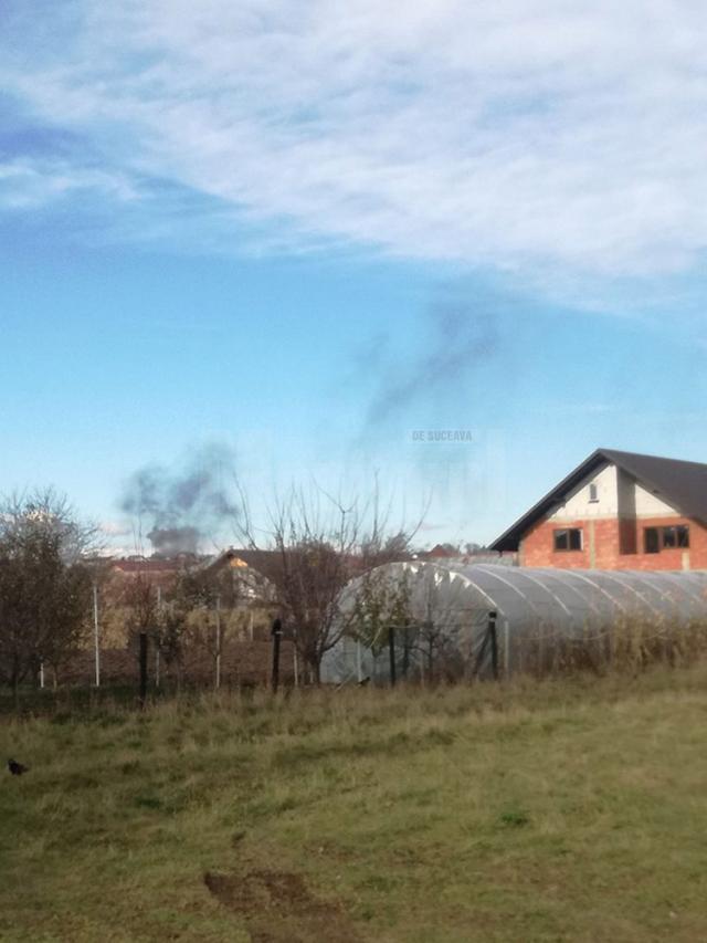 Incendierile, foarte frecvente în comunitatea de romi de la Șcheia